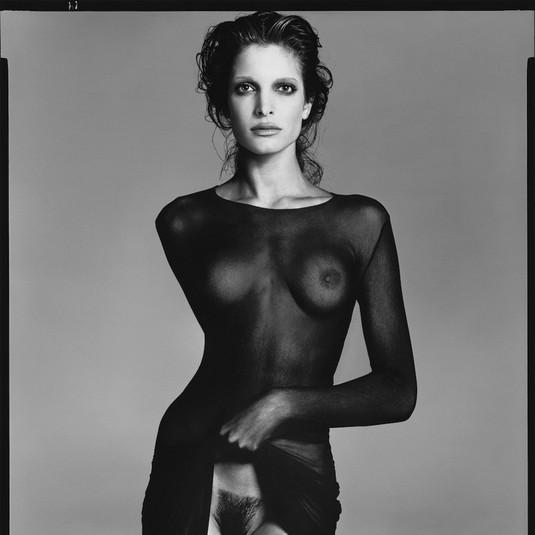 Richard Avedon, Stephanie Seymour, dress by Comme des Garçons, New York, May 10, 1992