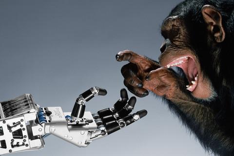 Hiro, Robotic Hand, Salt Lake City, Utah, 1986
