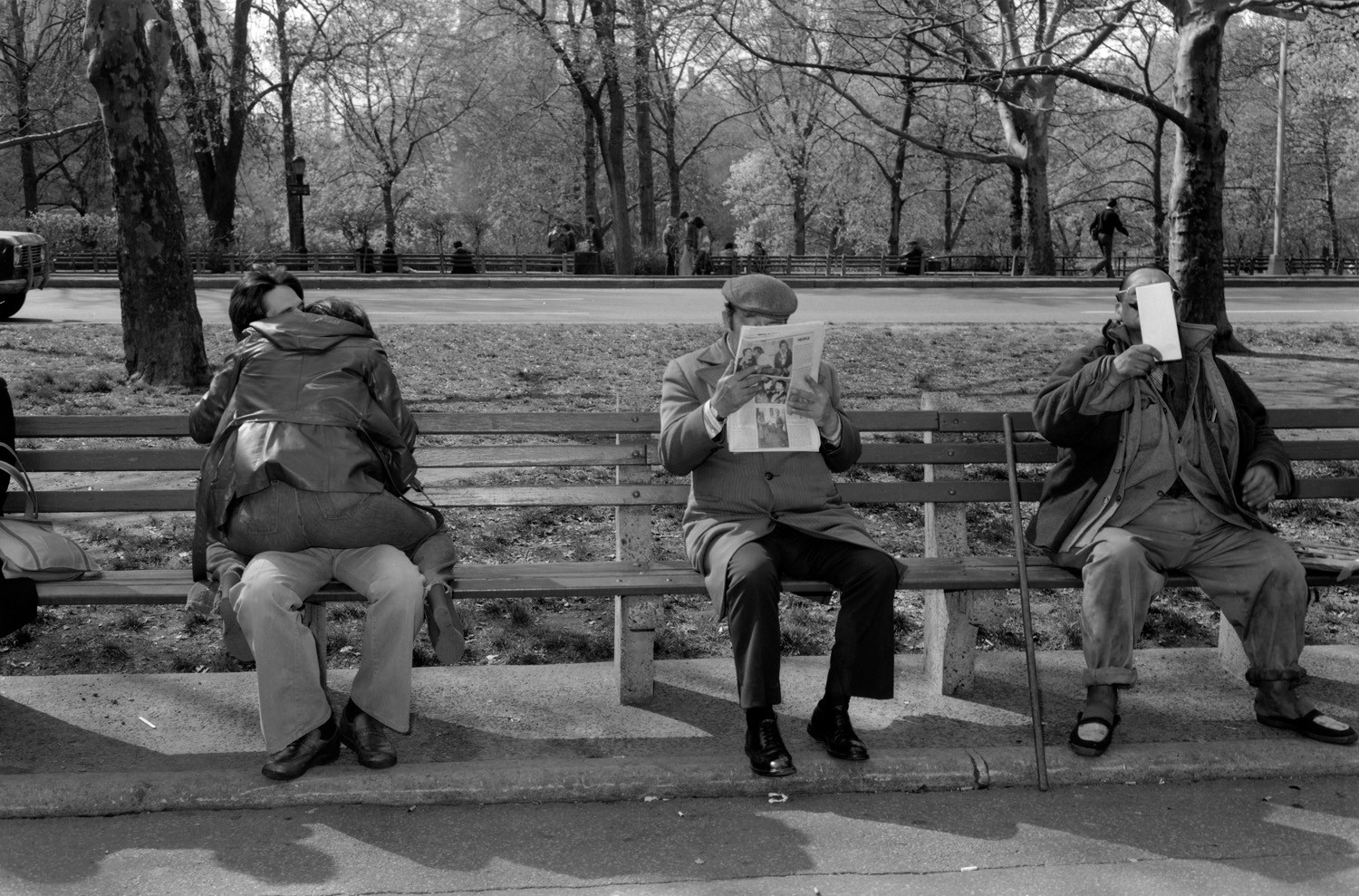 Tod Papageorge, Central Park, New York, 1979