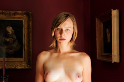 Jocelyn Lee, Untitled (Fiona in red room), 2008