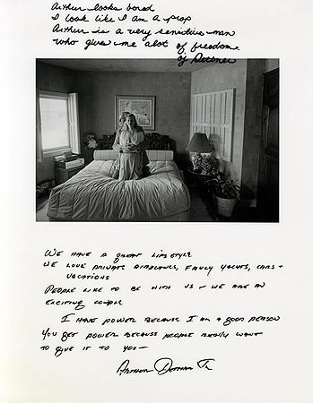 Jim Goldberg, Untitled (Arthur looks bored ...), 1980