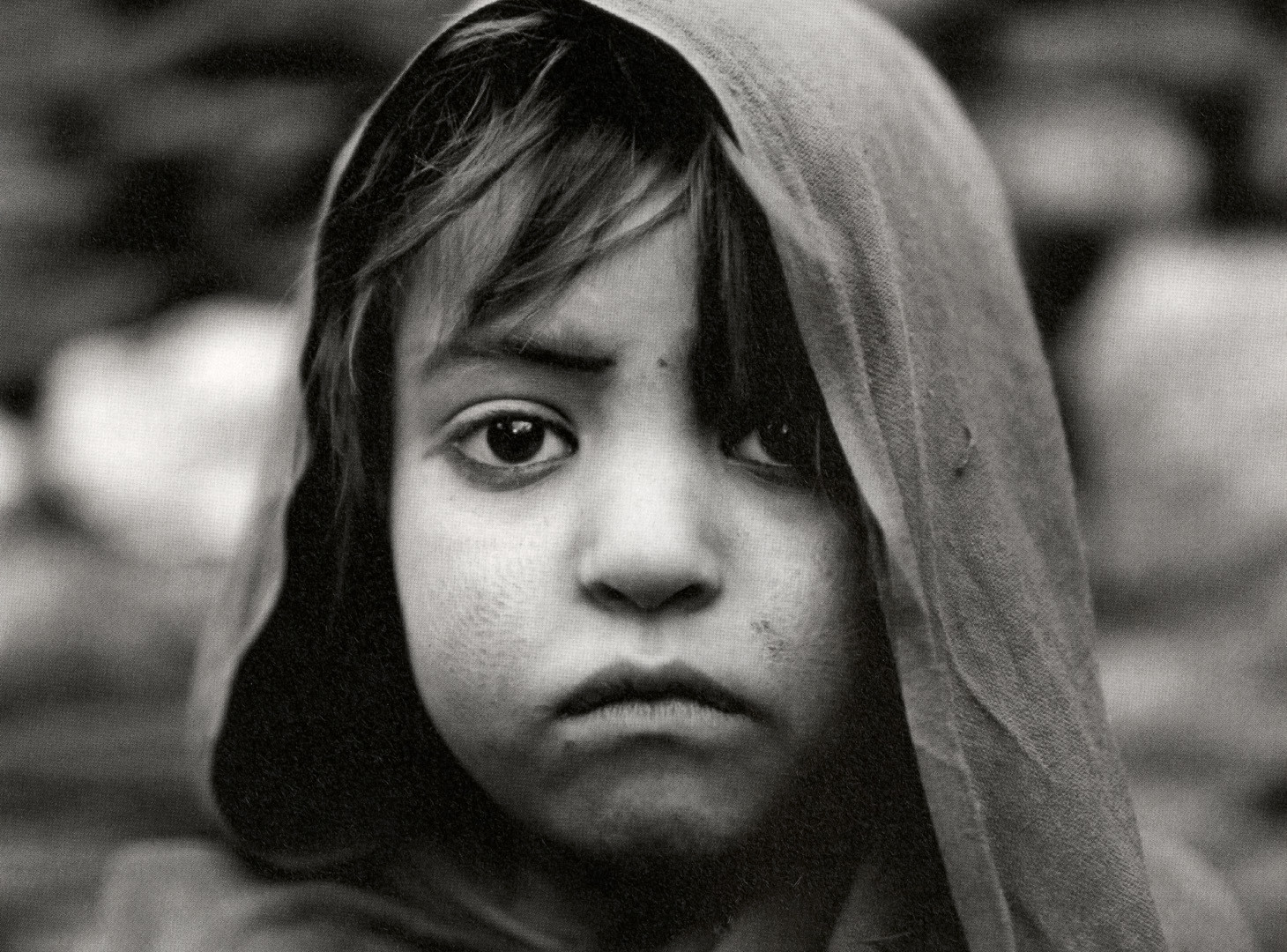 Fazal Sheikh, Afghan girl born in exile, Afghan refugee village, Khairabad, north Pakistan, 1998