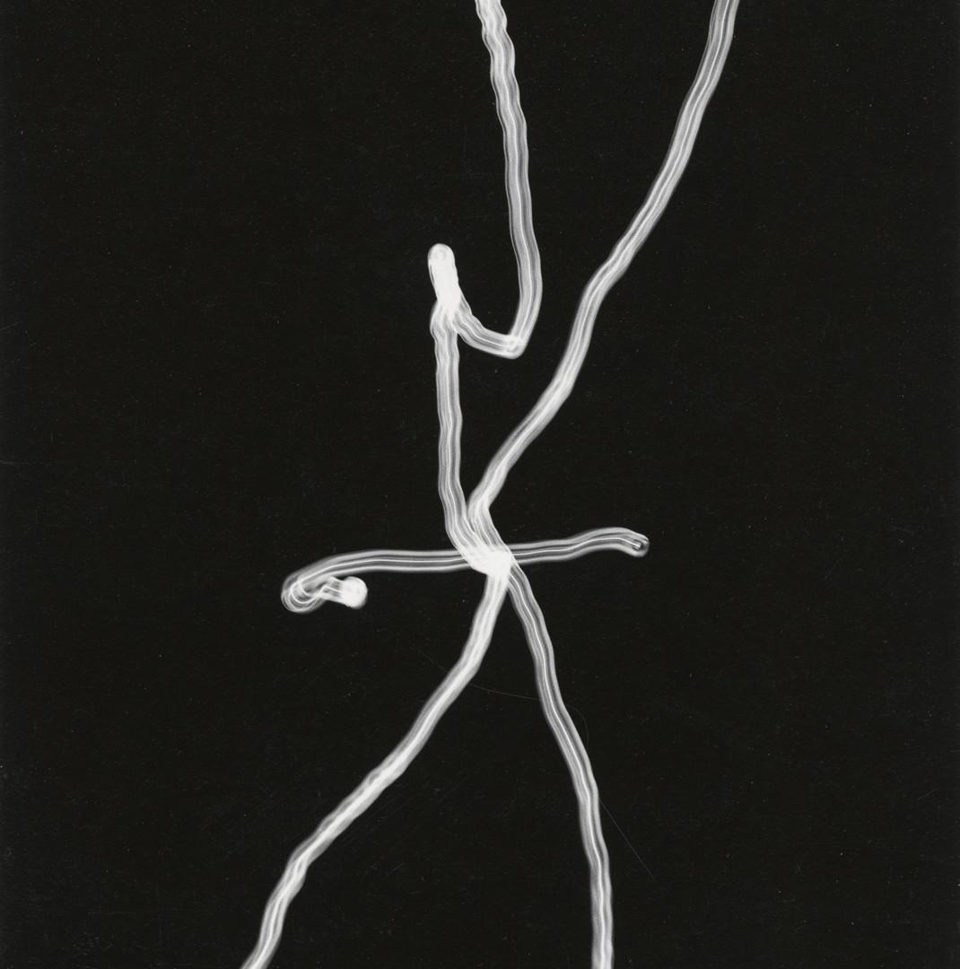 Harry Callahan, Camera Movement on Flashlight, 1946-47