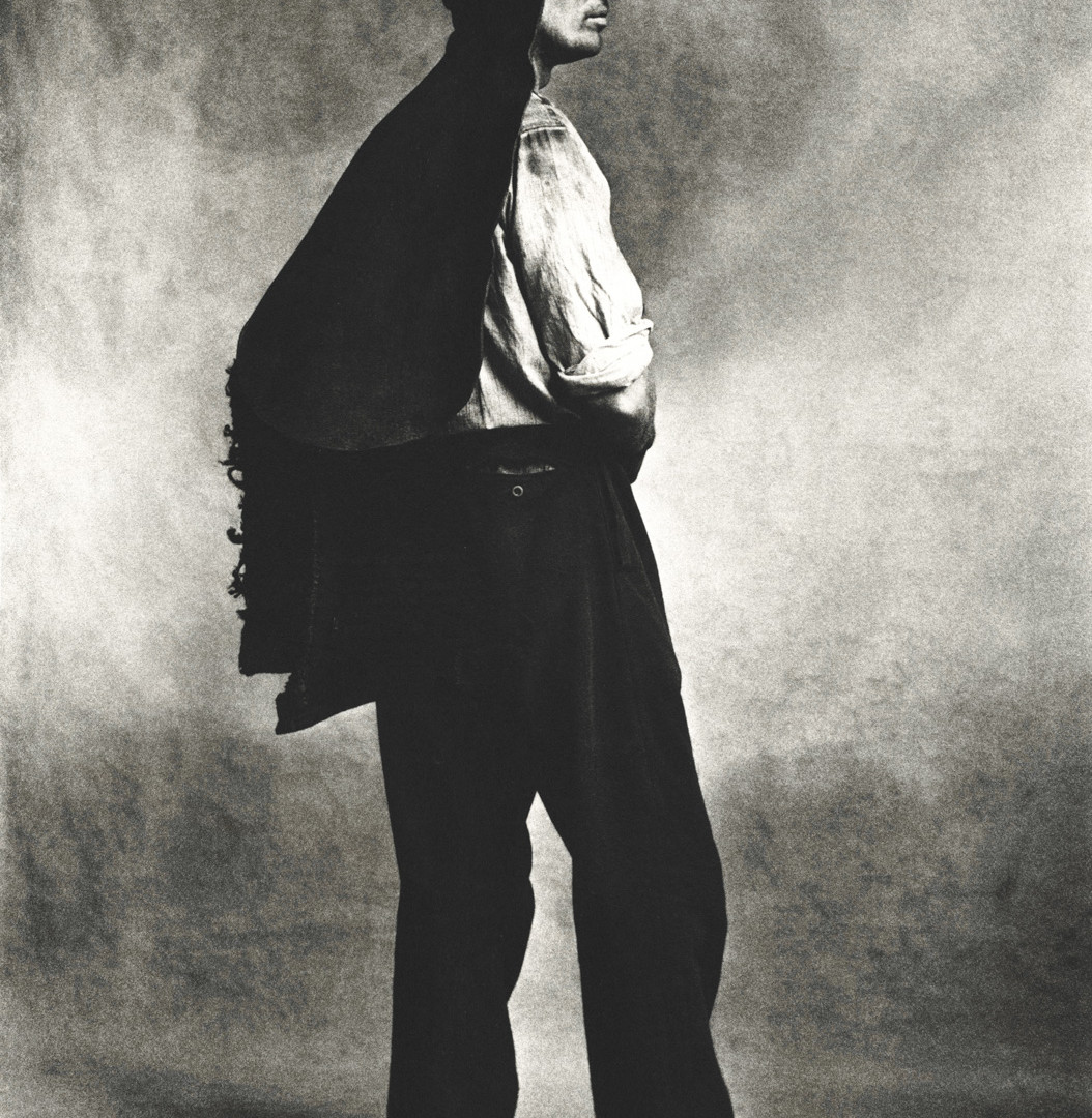 Irving Penn, Coal Man (B), London, 1950