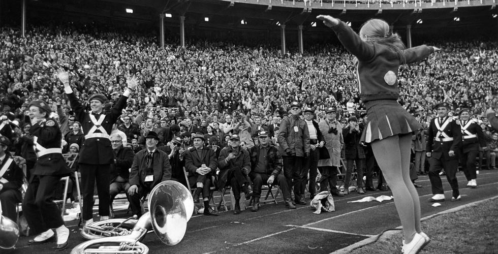 Tod Papageorge, College football game, Ohio Stadium (Michigan vs. Ohio State), Columbus, November 21, 1970