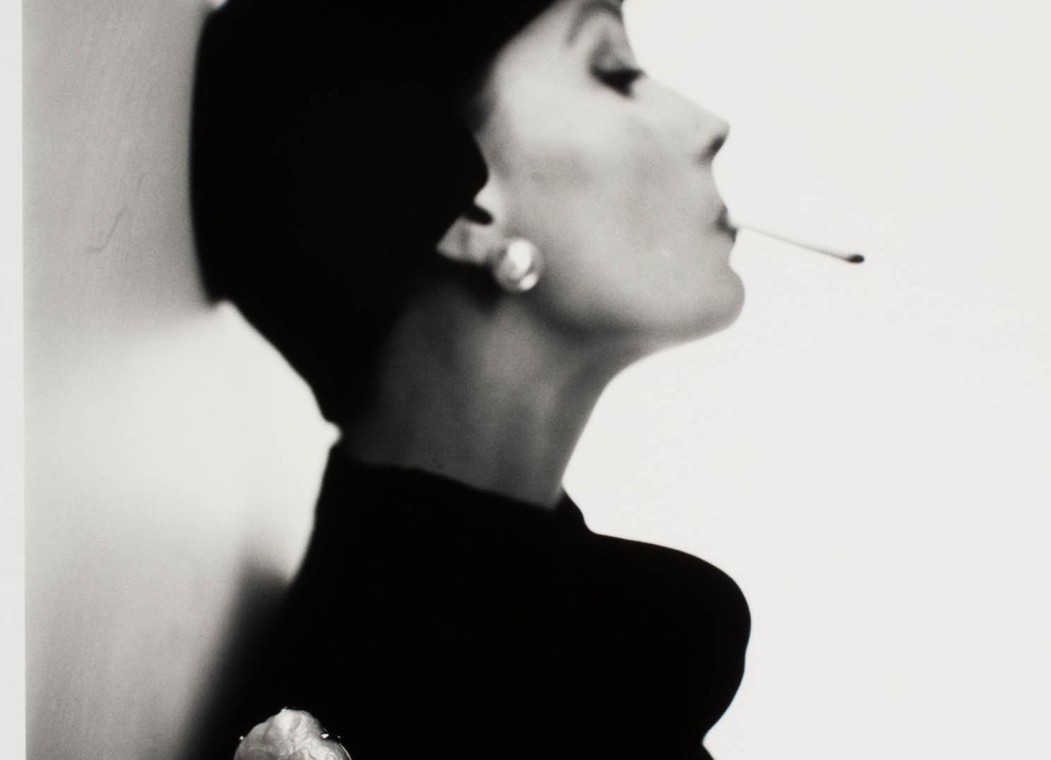 Irving Penn, Velvet Helmet Hat (Sue Jenks), New York, 1949