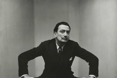 Irving Penn, Salvador Dali (1 of 3), New York, 1947