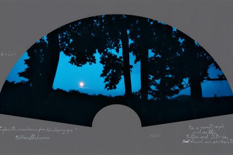 Duane Michals, On a moonlit night, 6/31/07