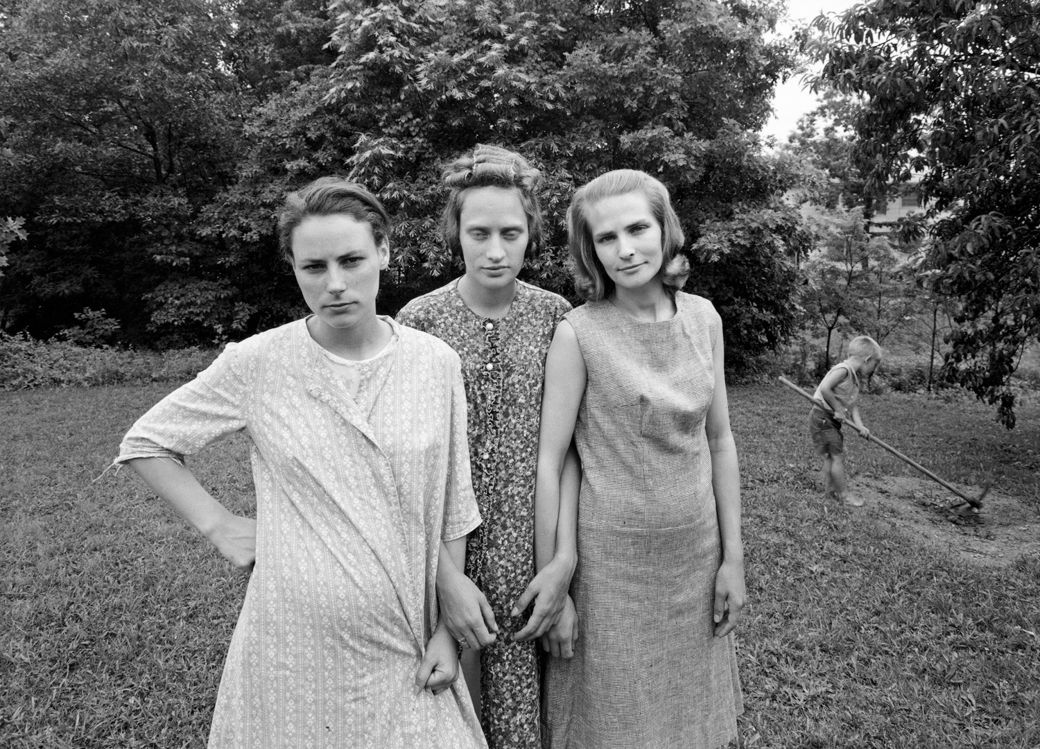 Emmet Gowin, Edith, Ruth and Mae, Danville, Virginia, 1967