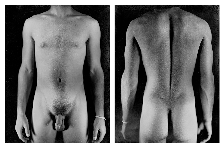 Chuck Close, Torso Diptych, 2005