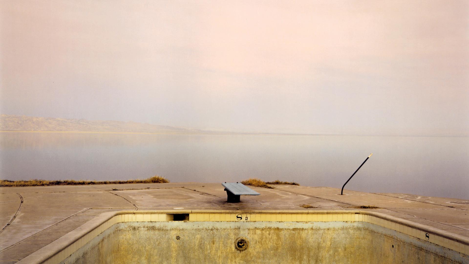 Richard Misrach, Diving Board, Salton Sea, 1983