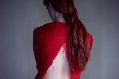 Richard Learoyd, Calypso, Red Dress, 2015