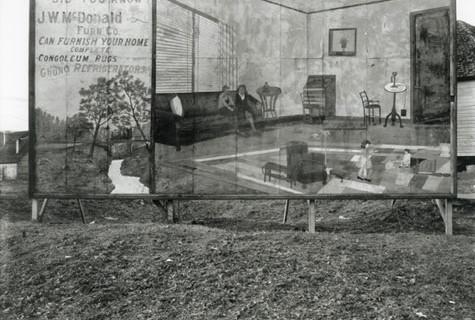 Walker Evans, Furniture Store Sign near Birmingham, Alabama, 1936