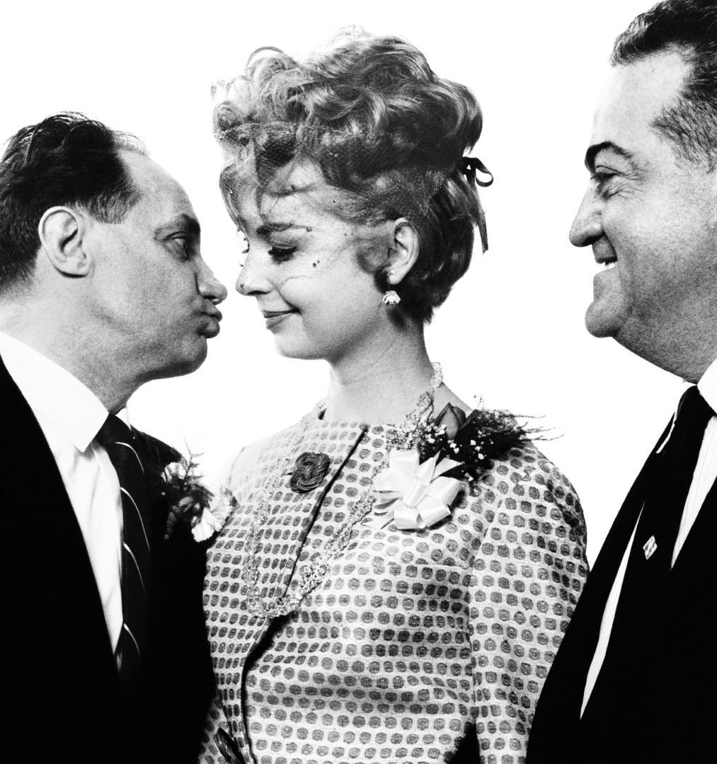 Richard Avedon, Wedding of Mr. and Mrs. Luka Ghettaldi, City Hall, New York, April 29, 1961