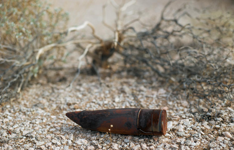 Mark Klett, Unexploded ordinance, Goldwater Bombing Range, 2013