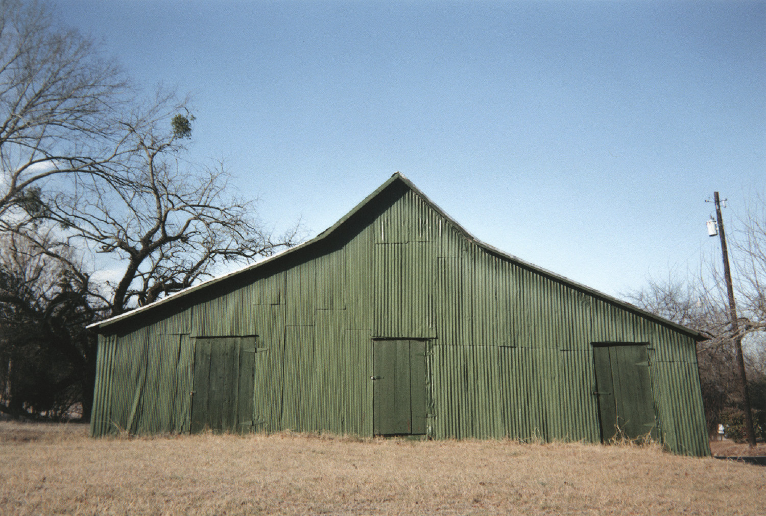 William Christenberry, Green Warehouse, Newbern, Alabama, 2001