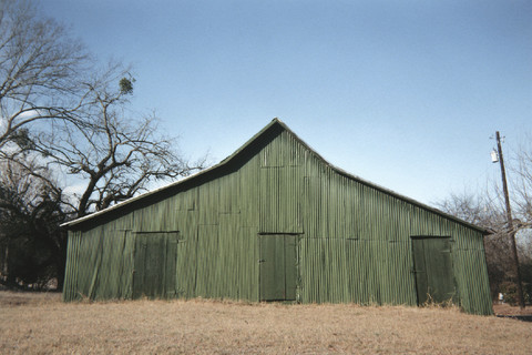 William Christenberry, Green Warehouse, Newbern, Alabama, 2001