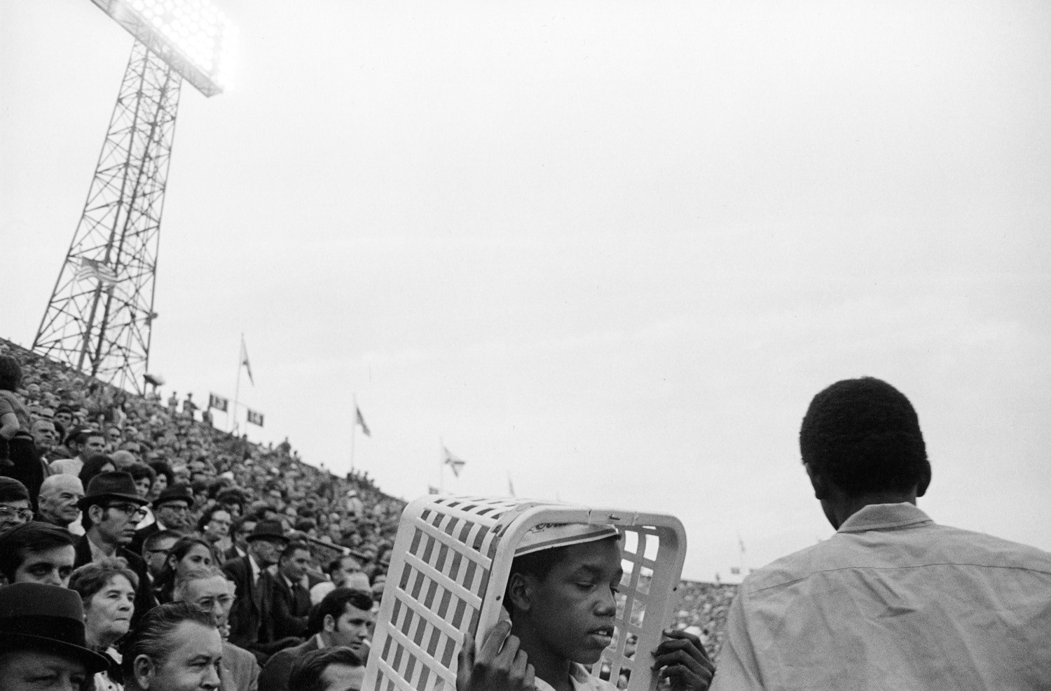 Tod Papageorge, Iron Bowl (Auburn vs. Alabama), Legion Field, Birmingham, Alabama, November 28, 1970