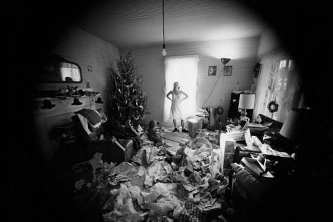 Emmet Gowin, Edith, Christmas Morning, Danville, Virginia, 1971
