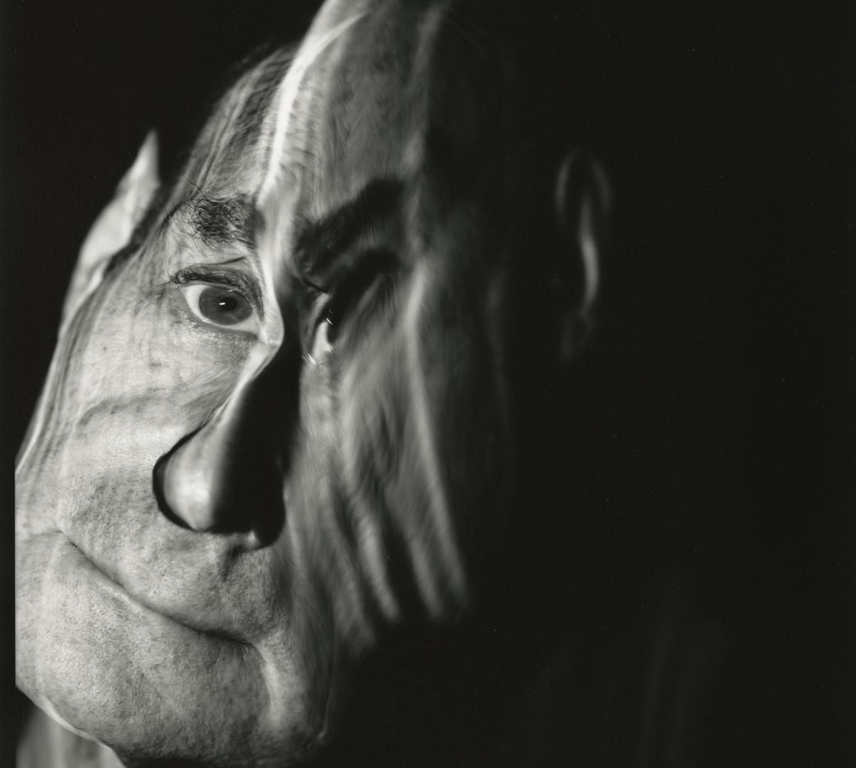 Irving Penn, IP, Photograph of Self (F), New York, 1993