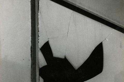 Aaron Siskind, Cracked Glass, 1947