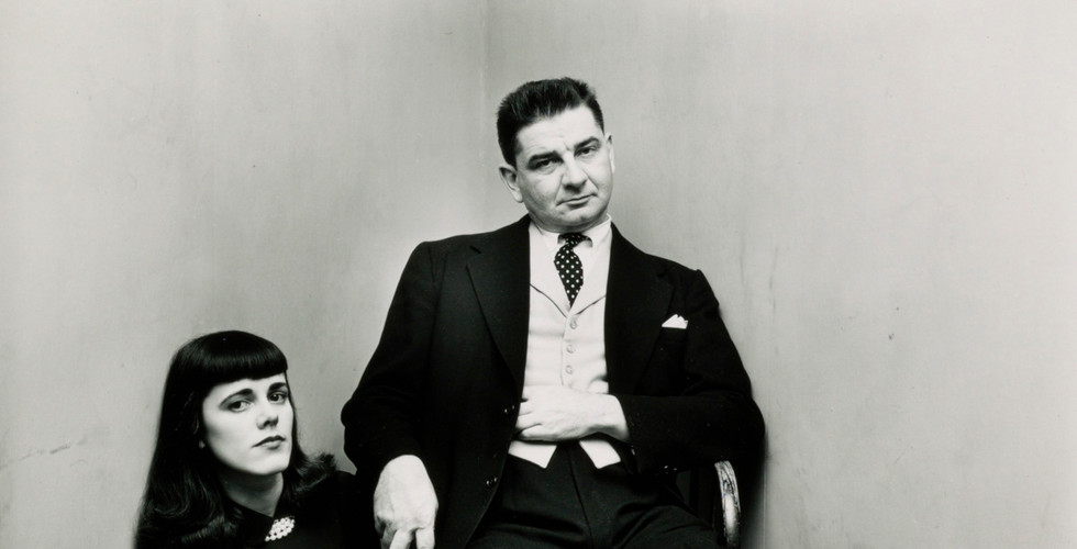 Irving Penn, Charles & Barbara Addams (1 of 2), New York, 1948