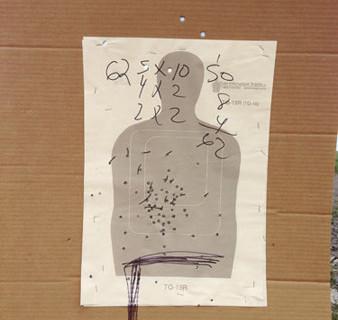 Richard Misrach, Border Patrol target #50, near Gulf of Mexico, Texas / Blanco de la Patrulla Fronteriza no. 50, cerca del golfo de México, Texas, 2014
