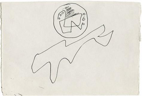 Jackson Pollock, Untitled, c. 1942