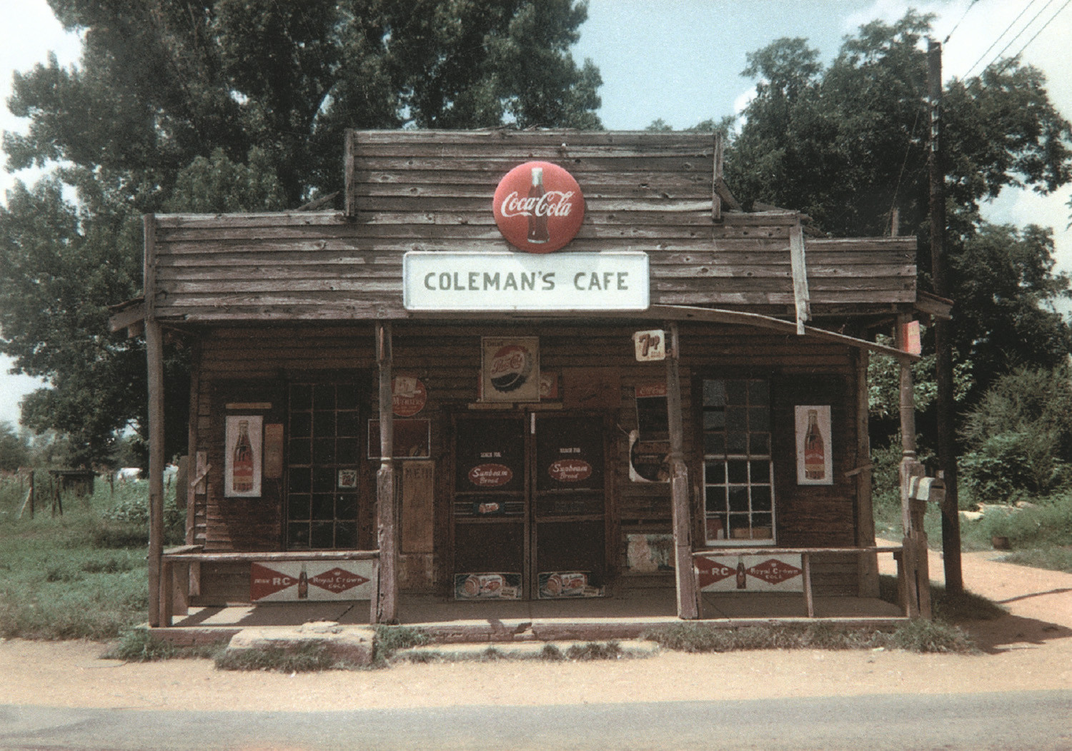 William Christenberry, Coleman's Café, Greensboro, Alabama, 1967