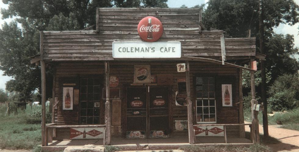 William Christenberry, Coleman's Café, Greensboro, Alabama, 1967