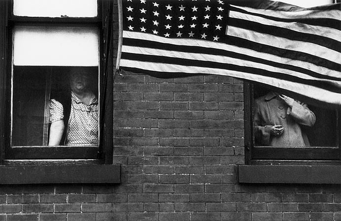Robert Frank, Parade - Hoboken, New Jersey, 1955-1956
