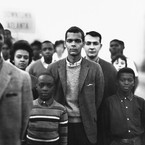 Richard Avedon, Student Nonviolent Coordinating Committee headed by Julian Bond, Atlanta, Georgia, March 23, 1963