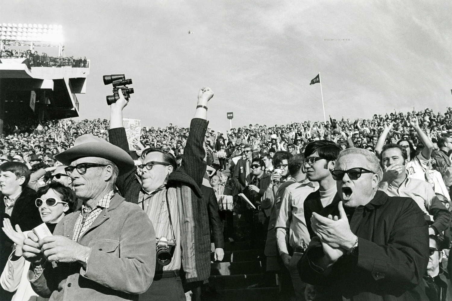 Tod Papageorge, Cotton Bowl (Notre Dame vs. Texas), Cotton Bowl Stadium, Dallas, January 1, 1971