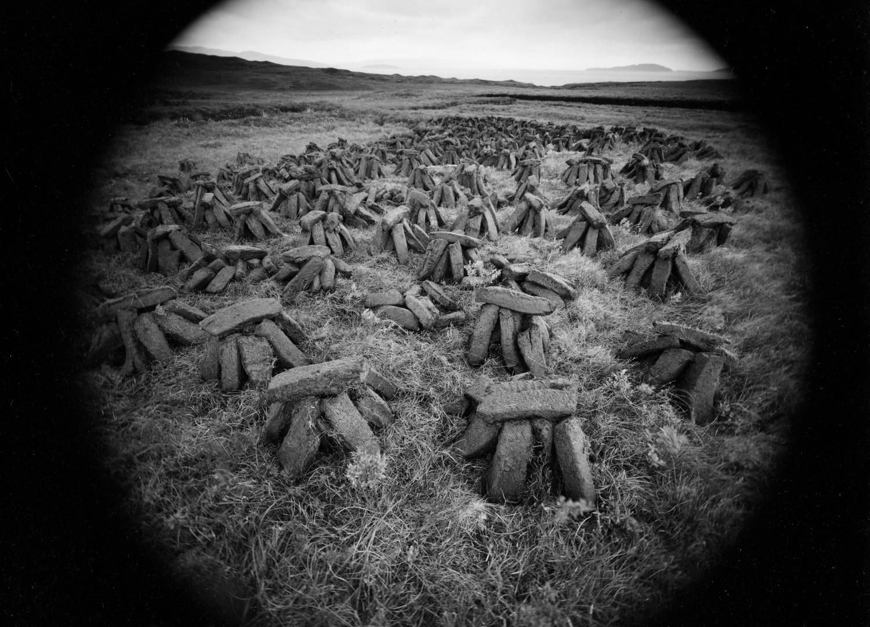 Emmet Gowin, Peat, Isle of Skye, Scotland, 1972