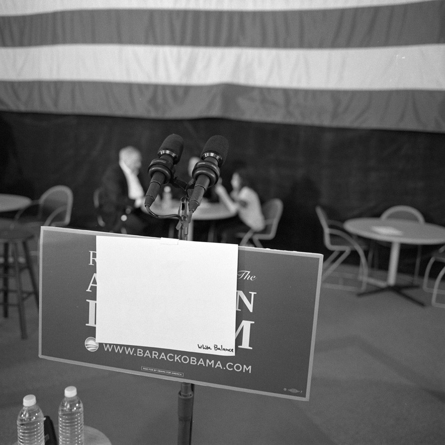 Larry Fink, Barack Obama, CO and NV, 2008