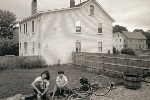 Richard Benson, Abbey and Daniel Benson, 1982
