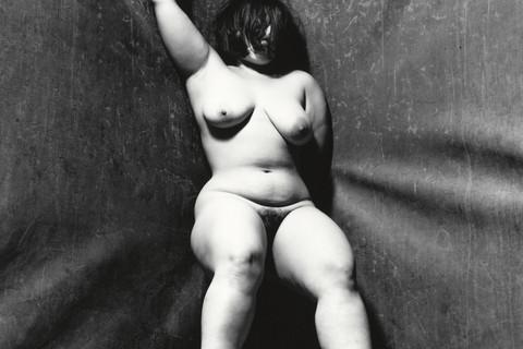 Irving Penn, Alexandra Beller (BB), New York, 1999
