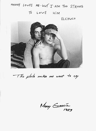 Jim Goldberg, Untitled (Manny loves me ...), 1983