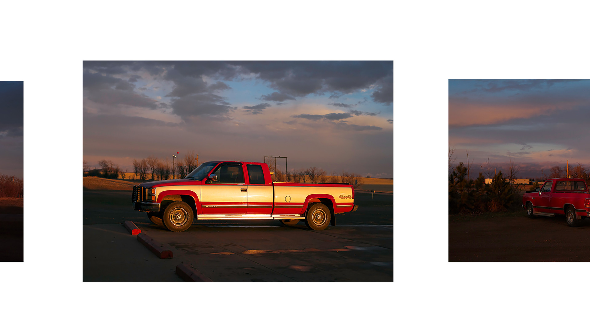 Paul Graham, North Dakota (Moonrise at Garage), 2005