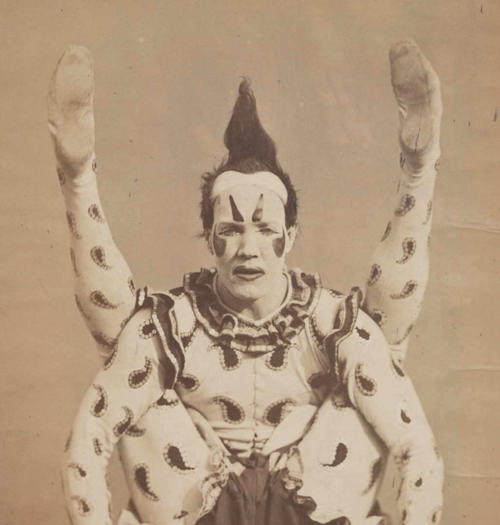 Photographer Unknown (possibly Edward B. Crichton), Harlequin, c. 1870