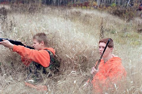 Jocelyn Lee, Untitled (Hunters), 2001