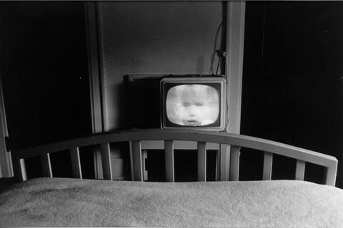 Lee Friedlander, Galax (Television in Hotel Room), Virginia, 1962