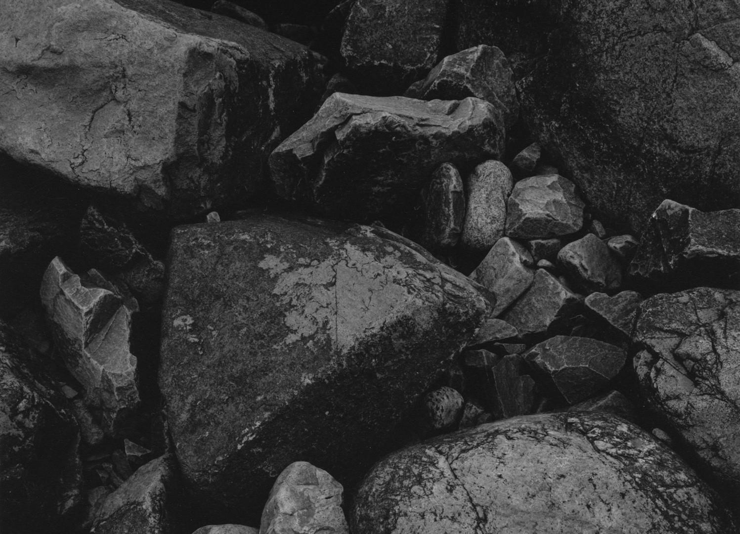 Harry Callahan, Bass Rocks, 1963