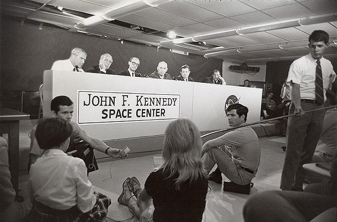 Garry Winogrand, Apollo 11 Press Conference, Cape Kennedy, Florida, 1969