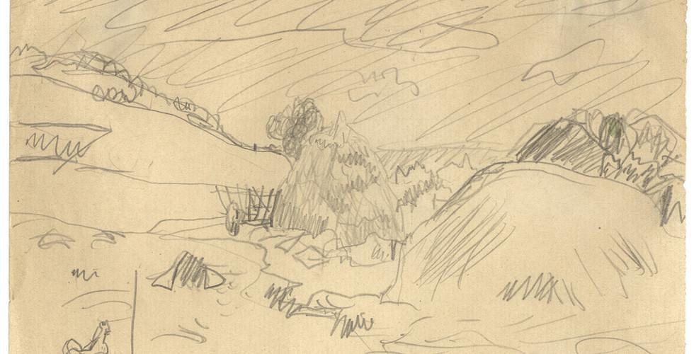 Pierre Bonnard, Les meules, n.d.