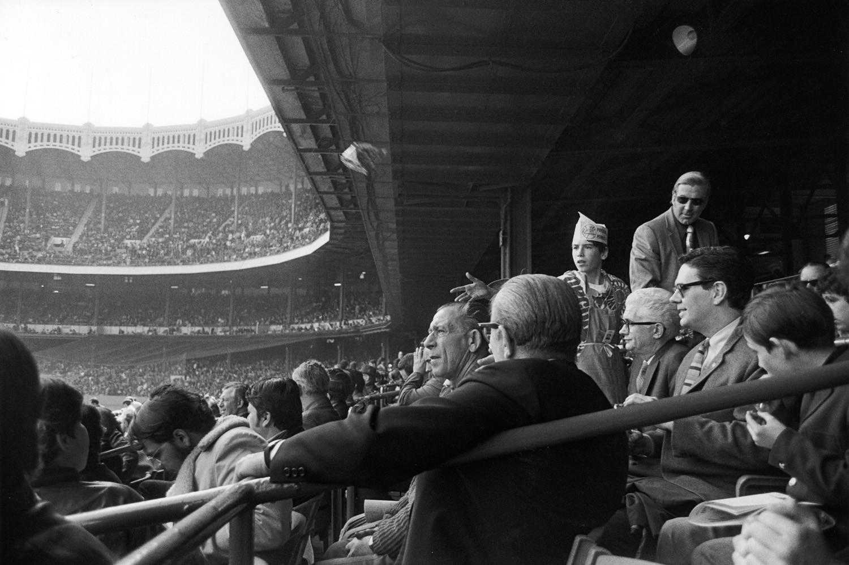 Tod Papageorge, Yankee Stadium, New York, 1970