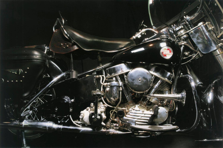 Annie Leibovitz, Elvis Presley's 1957 Harley-Davidson Hydra Glide motorcycle, Graceland, Memphis, Tennessee, 2011