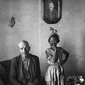 David Goldblatt, A pensioner with the child of a servant. Wheatlands, Randfontein, Transvaal (Gauteng). , September 1962