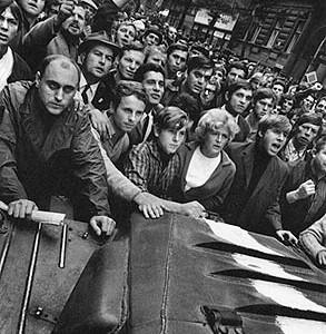 Josef Koudelka, Prague, August , 1968