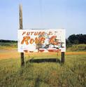 William Christenberry, Sign near Greensboro, Alabama (Future Rose), 1978